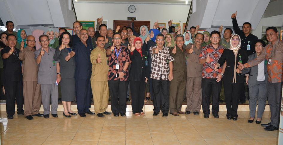 Closing Audit Akreditasi Pengadilan Tinggi Tanjungkarang oleh Team Akreditasi Penjaminan Mutu (TAPM) Ditjen BADILUM MA RI